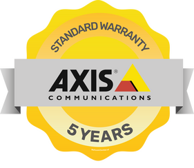 Axis 5 year warranty
